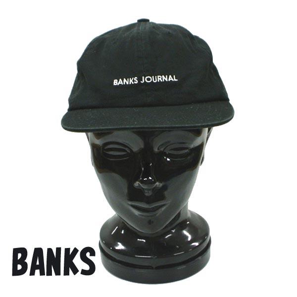 BANKS バンクス LABEL HAT DIRTY BLACK 市場 CAP キャップ入荷 HA0120 キャップ 帽子 ハット 高品質新品 返品 交換及びキャンセル不可 日よけ 値下げしました