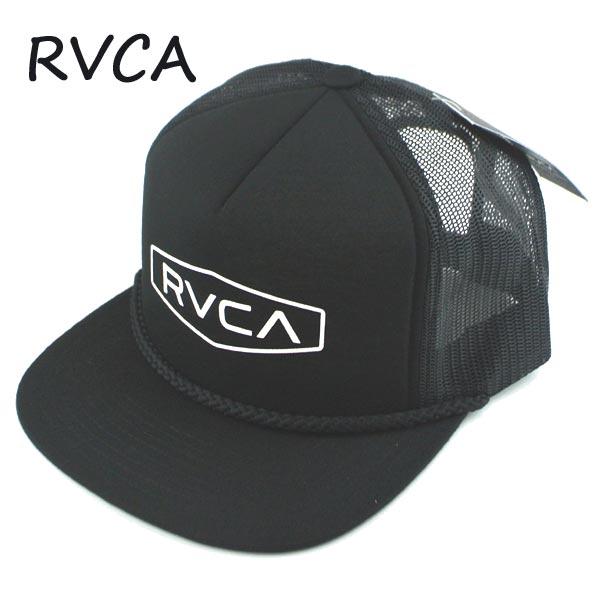 RVCA ルーカ STAPLE FOAMY TRUCKER HAT BLK CAP BLACK 帽子 日よけ ハット 入荷 キャップ 高額売筋 返品 公式サイト 交換及びキャンセル不可