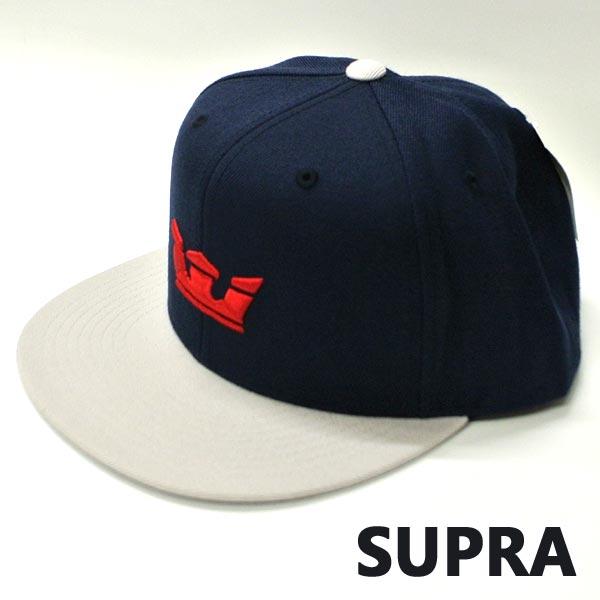 SUPRA スープラ 2020モデル ICON SNAP HAT NAVY LIGHT GREY CAP 返品 帽子入荷 440 キャップ 値下げしました 交換及びキャンセル不可 新品未使用 帽子