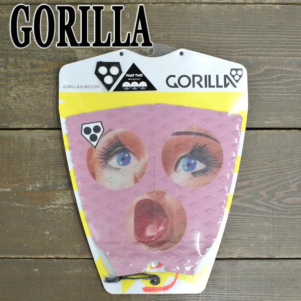 GORILLA 買い物 ゴリラ DECK PAD デッキパッド 大規模セール PHAT TWO DOLL サーフボード用入荷 値下げしました サーフボード用 トラクションパッド サーフィン用デッキパッチ