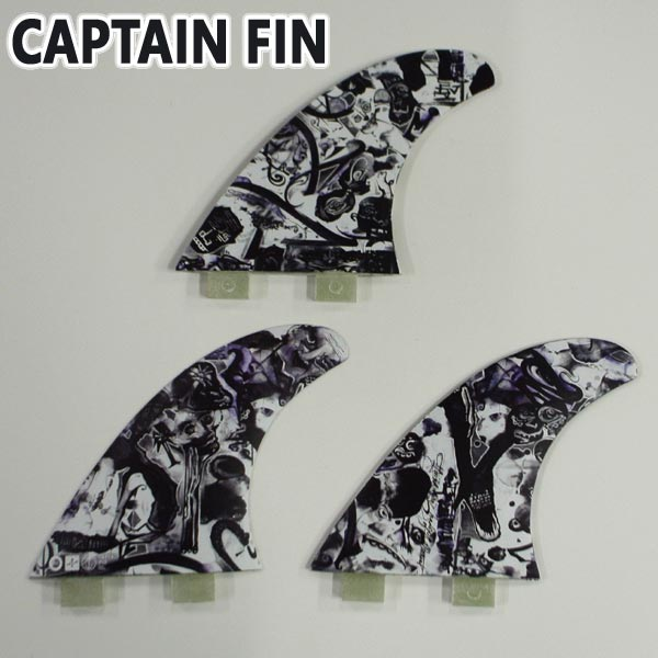 CAPTAIN FIN/キャプテンフィン CHEMISTRY PASER MEDIUM TT TRI FIN FCS/FCS2/エフシーエス トライフィン 3本セット サーフボード用フィン 送料無料[返品、交換及びキャンセル不可]
