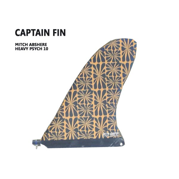 CAPTAIN FIN/キャプテンフィン MITCH ABSHERE HEAVY PSYCH 10 ミッチアブシャー ロングボード用フィン ボックスフィン/センターフィン/サーフボード用フィン