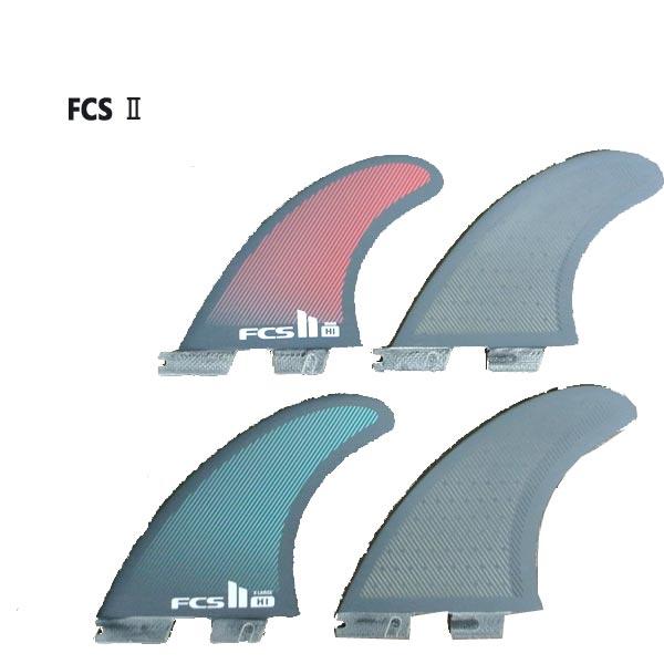 FCS2 FIN/エフシーエス2 HI ロングボード用フィン HARLEY QUAD PC Performance Core/パフォーマンスコア クワッドフィン4本セット ハーレー サーフボード用フィン
