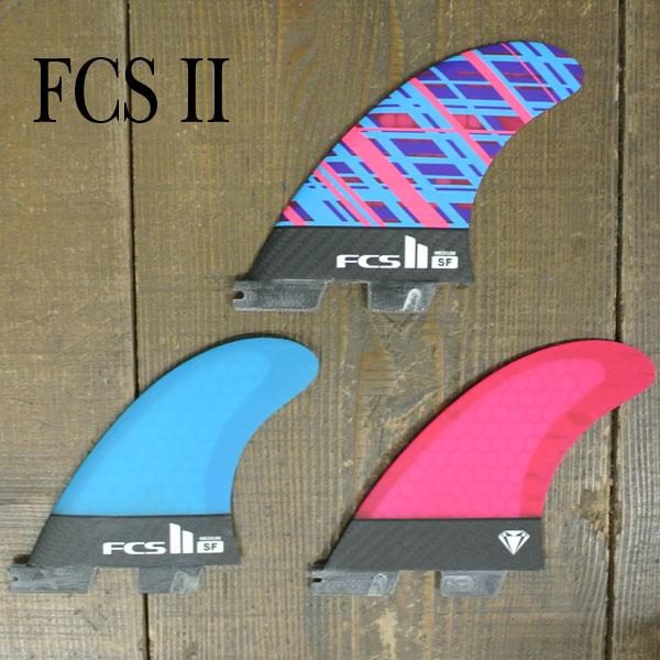 FCS2 FIN/エフシーエス2 SF/SALLY FITZGIBBONSサリーフィッツギボンズ PC/パフォーマンスコア MEDIUM トライフィン3本セット サーフボード用フィン 送料無料