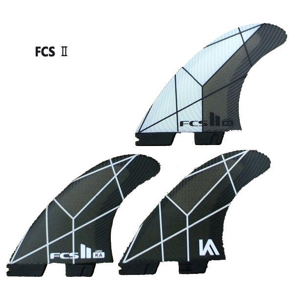 FCS2 FIN/エフシーエス2 KA KOLOHE ANDINO PC WHITE/GREY LARGE TRI-FIN コロヘアンディーノ パフォーマンスコア トライフィン3本セット サーフィン用 送料無料