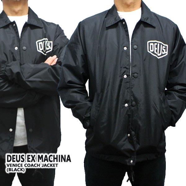 DEUS EX MACHINA/デウス エクス マキナ VENICE COACH JACKET メンズ 男性用 コーチジャケット