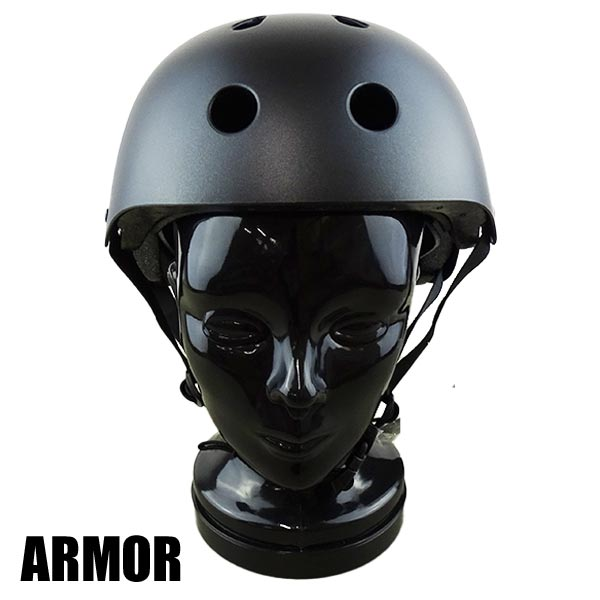 5%OFF ARMOR アーマー OLD 100%品質保証 SCHOOL HELMET FLAT BLACK ONESIZE スケートボード用ヘルメット 返品 SK8 大人用 交換及びキャンセル不可 スケボー 入荷