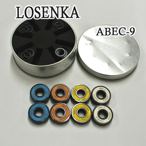 LOSENKA 海外並行輸入正規品 PROFESSIONAL DOUBLE TAIL SKATEBOARD BEARING ABEC-9 割引 スケートボードベアリング SK8 スケートボードベアリング入荷 スケボー 交換及びキャンセル不可 返品