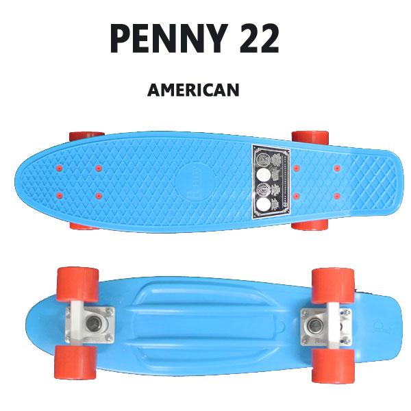 PENNY SKATEBOARDS/ペニースケートボード AMERICAN CLASSICS COLLECTION PENNY/ペニー 22 ミニクルーザースケボー 送料無料 ミニ_ショートSK8