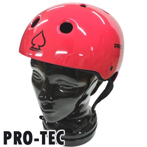 PRO-TEC 直営ストア プロテック CLASSIC SKATE HELMET GROSS PINK SKATEBOARDS スケートヘルメット 大人用 SK8用 交換及びキャンセル不可 返品 入荷 開催中