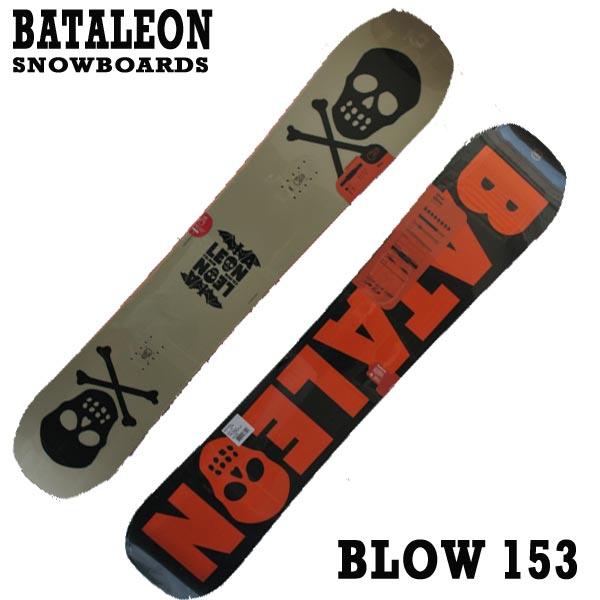 値下げしました!BATALEON/バタレオン BLOW 153 BATALEON SNOWBOARDS スノーボード 板 18-19モデル スノボ