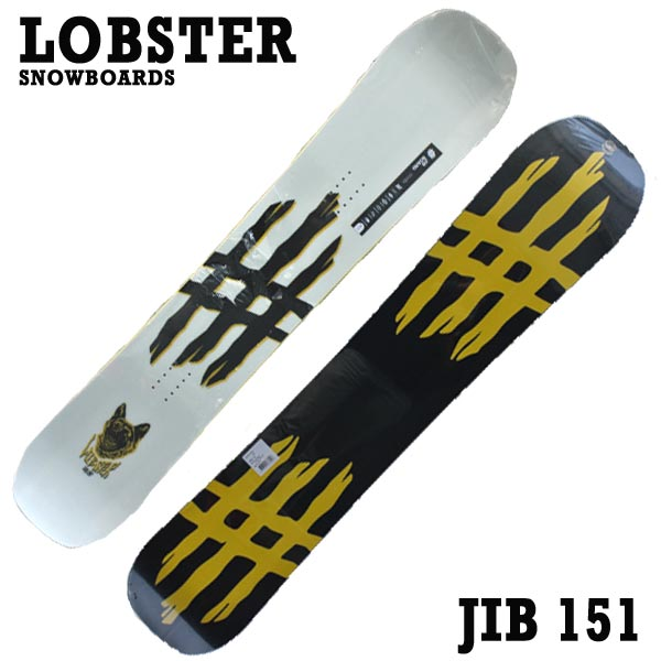 LOBSTER/ロブスター JIBBOARD 151 LOBSTER SNOWBOARDS スノーボード 板 18-19モデル スノボ ジブボード