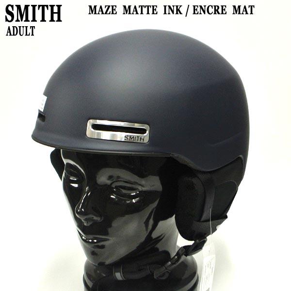 値下げしました!SMITH/スミス MAZE SNOW HELMETS ヘルメット MATTE INK/ENCRE MAT SNOWBOARDS スノボ用 大人用 雪山 18-19モデル