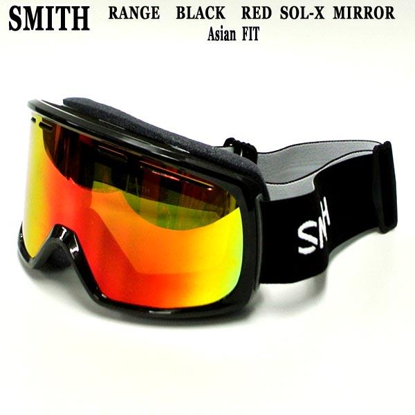値下げしました!SNOW GOGGLE RANGE BLACK ASIANFIT/アジアンフィットSNOWBOARDS GOGGLE スノーボード スキー ゴーグル スノボ 19-20