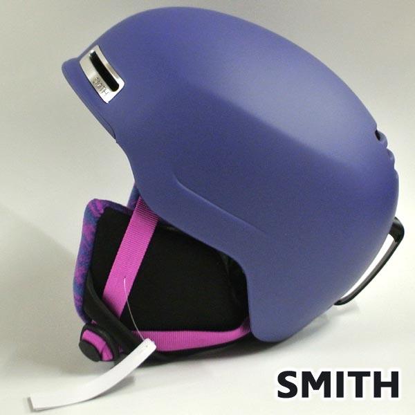 値下げしました!SMITH/スミス ALLURE SNOW HELMETS ヘルメット MATTE DUSTY LILAC SNOWBOARDS スノボ用 女性用 大人用 雪山 19-20モデル  [返品、交換及びキャンセル不可]