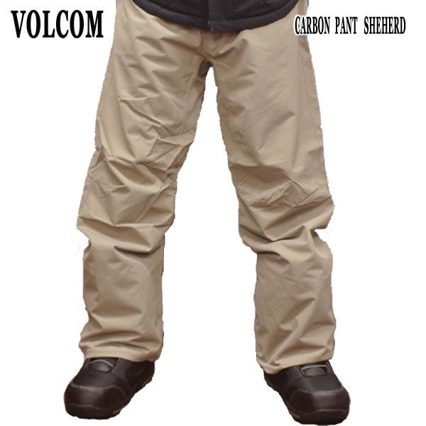 値下げしました!18-19モデル VOLCOM/ボルコム CARBON PANTS SHE メンズ 男性用 スノボ用パンツ エルゴフィット スノボウェア スノーウェア 耐水 防寒 機能性 10000MM スノーボード SNOWBOARDS