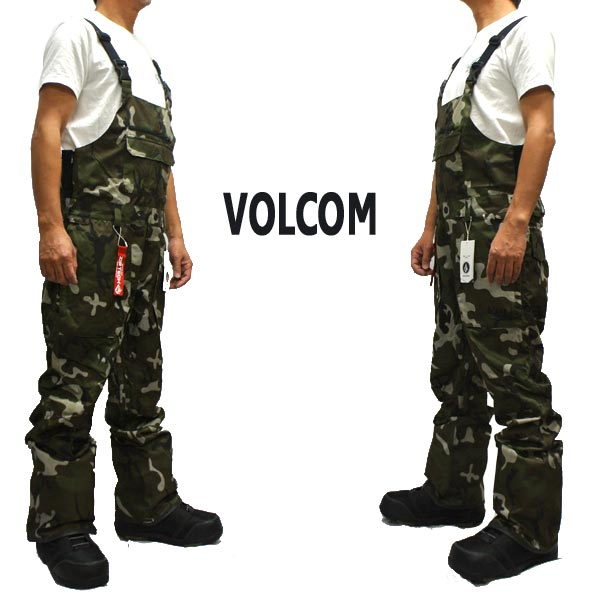 値下げしました!VOLCOM/ボルコム ROAN BIB OVERALL メンズ 男性用 スノボ用オーバーオール つなぎ スノボウェア スノーウェア 耐水 防寒 機能性 15000MM スノーボード SNOWBOARDS 19-20 [返品、交換及びキャンセル不可]