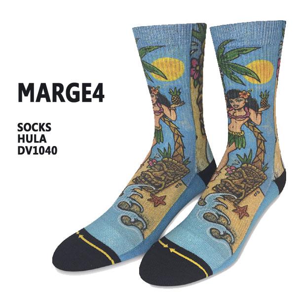 MERGE4 マージフォー HULA SOCK 入荷 値下げしました DIRK VERMINコラボ ソックス オンラインショッピング メンズ 定番スタイル 男性靴下
