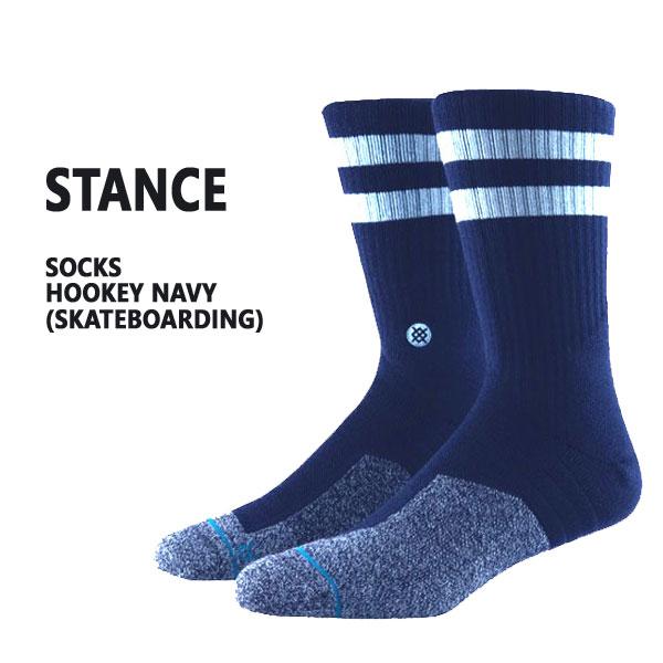 特価キャンペーン STANCE スタンス HOOKEY NAVY SOCK 入荷 出群 男性靴下 ソックス スケーターソックス メンズ