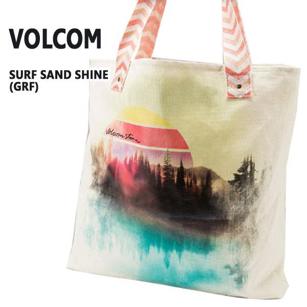 VOLCOM/ボルコム SURF SAND SHINE TOTE GRF トートバッグ 鞄 手提げ_02P01Oct16