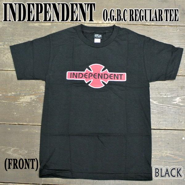 INDEPENDENT インデペンデント O.G.B.C. S TEE BLACK メンズ半袖Tシャツ入荷 格安 価格でご提供いたします 丸首 おトク メンズ 男性用 T-shirts Tシャツ 値下げしました 半袖