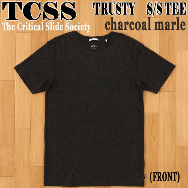 TCSS 保証 The Critical Slide Society TRUSTY TEE CHARCOAL 男性用 メンズ半袖Tシャツ入荷 半袖Tシャツ メンズ 供え 値下げしました T-shirts MARLE ザクリティカルスライドソサイエティ