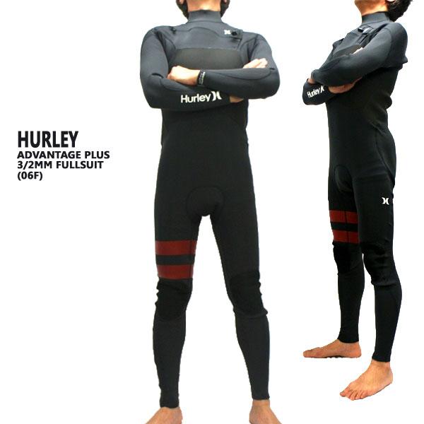 値下げしました!HURLEY/ハーレー ADVANTAGE PLUS 3/2MM 06F チェストジップ ウェットスーツ サーフィン フルスーツ 送料無料 男性用