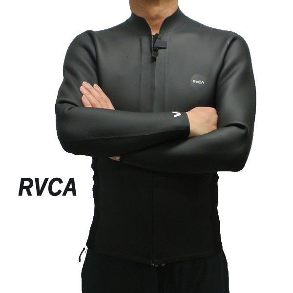 RVCA ルーカ ルカ FRONT ZIP SMOOTHIE JACKET 2mm L S Jacket BLACK タッパー 入荷 MR53NRFZ メンズ サイズのある場合のみ交換可能 WET ウェットスーツ 男性用 返品キャンセル一切不可 お買得 長袖タッパ 店内全品対象 SUITS 送料無料