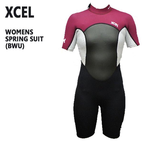 値下げしました!レディース用XCEL/エクセル AXIS OFFSET スプリングウェットスーツ 2mm BWU送料無料サーフィン用女性用_02P01Oct16