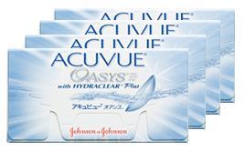 アキュビューオアシス 4箱セット【コンタクト】【コンタクトレンズ】