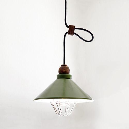 後藤照明VerdeシリーズサンレモアルミP5ガード緑塗装ペンダント