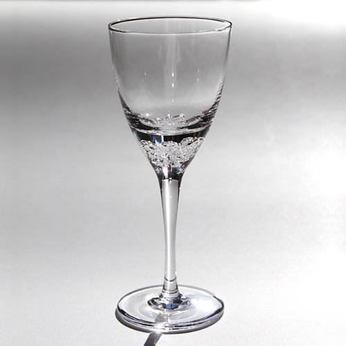 sugaharaの手づくりガラス お買い得 激安☆超特価 スガハラグラス3type of ワイングラス bubbles3種の泡