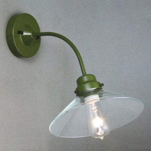 バーゲンで 後藤照明電柱型ブラケット緑(透明)(付属電球無し)屋内用, アイドルユニフォーム 20875f7c
