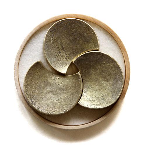 be9b04473a46 (5個入り) 五つ月 FUTAGAMI真鍮の生活用品箸置き