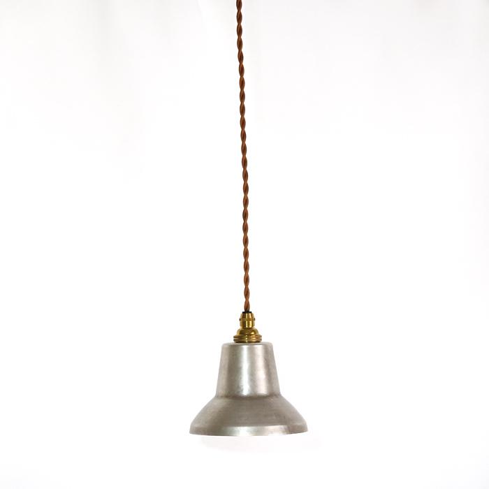 銅板シェードのペンダントライトtone spot silver モメンタムファクトリーOrii