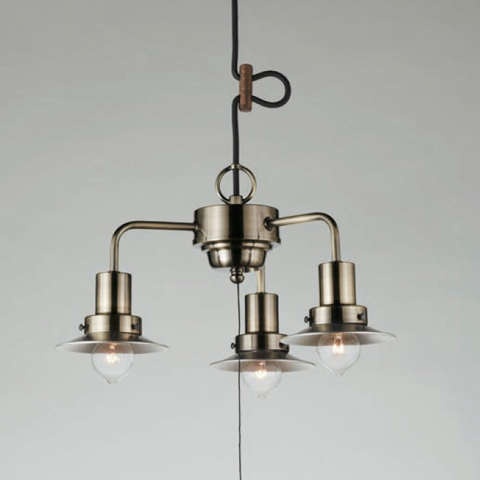 後藤照明Monte LuceシリーズアルミP1Sロマン3灯用CP型キリマンジャロ3灯