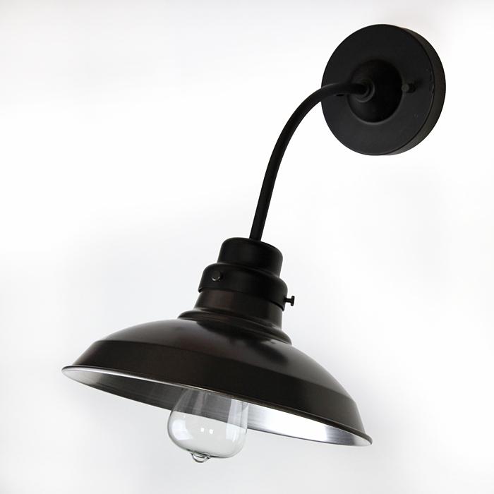 輸入 surou限定 黒いアルミ配照S 当店限定販売 後藤照明バイスロウGLF surouアルミ配照S墨黒電柱型ブラケットアンティークランプ球60W付属屋内用 x