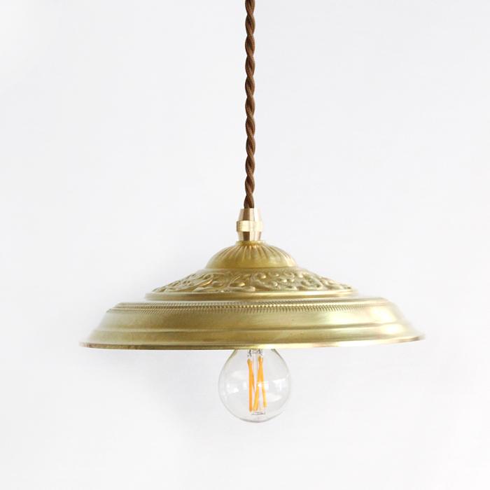 Antique Style Lightings SET付属球無し ふるさと割 真鍮のペンダントランプセットLUN 期間限定送料無料