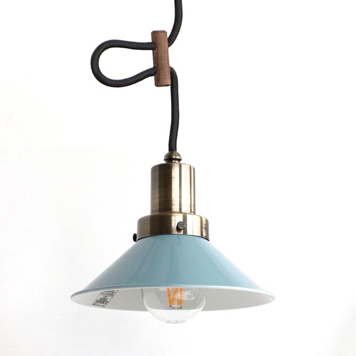 後藤照明バイスロウGLF x surouアルミP5Sセードペンダントオパールブルー 0274br LEDクリアガラス電球付属
