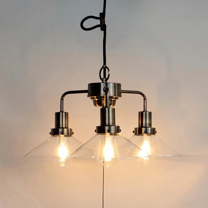 後藤照明透明P13灯用CP型0273ブロンズペンダントライトLED電球付属