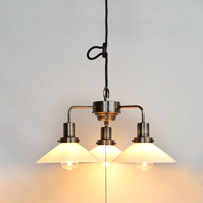 後藤照明乳白P13灯用CP型0273ブロンズペンダントライトLED電球付属