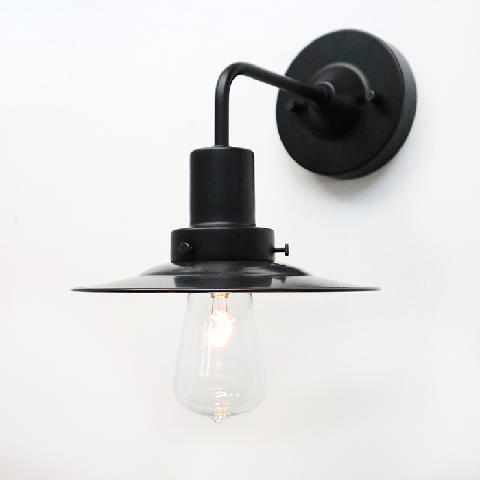 後藤照明バイスロウGLF x surouアルミP1KUROBK型(0274)アルミP1セード黒ブラケット(0274)・付属球無し屋内用