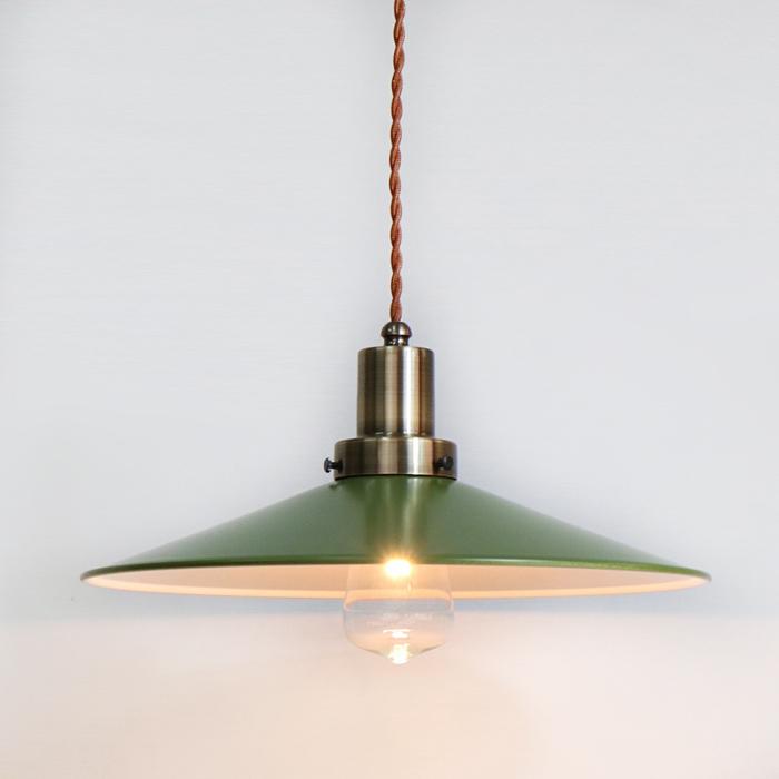 おすすめ特集 後藤照明ネジリコードアルミP1L CP型アンティークランプ球60W55cmコード グリーンxブラウン 新作 人気