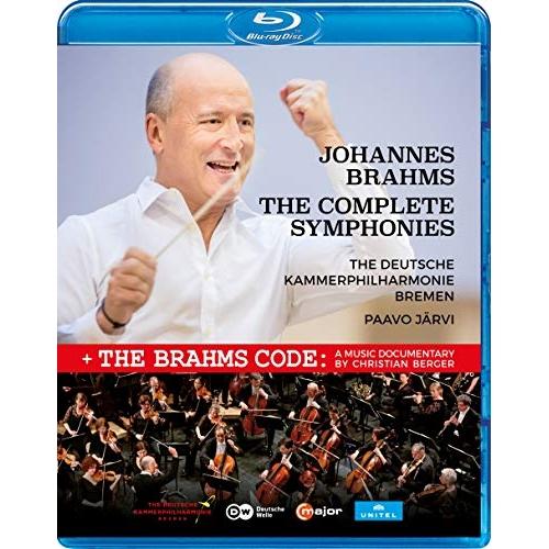 【取寄商品】 BD/ブラームス:交響曲全集(Blu-ray) (解説付) (輸入盤)/クラシック/KKC-9501
