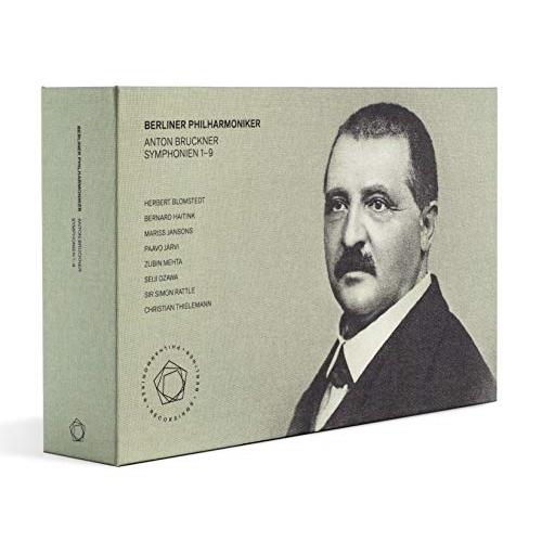 【取寄商品】 CD/アントン・ブルックナー(1824-1896):交響曲全集 (9CD+3Blu-ray+Blu-ray Audio) (解説付) (来日記念盤/直輸入盤)/ベルリン・フィルハーモニー管弦楽団/KKC-9507