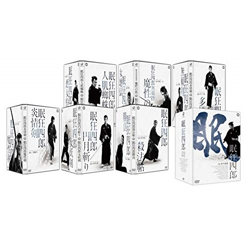 ★DVD/眠狂四郎 DVD-BOX/邦画/DABA-91498