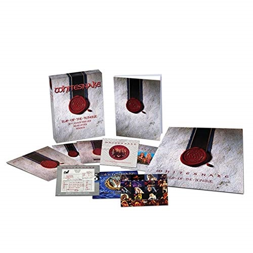 CD/スリップ・オブ・ザ・タング 30周年記念スーパー・デラックス・エディション (6SHM-CD+DVD) (歌詞対訳付/ライナーノーツ) (初回生産限定盤)/ホワイトスネイク/WPZR-30863