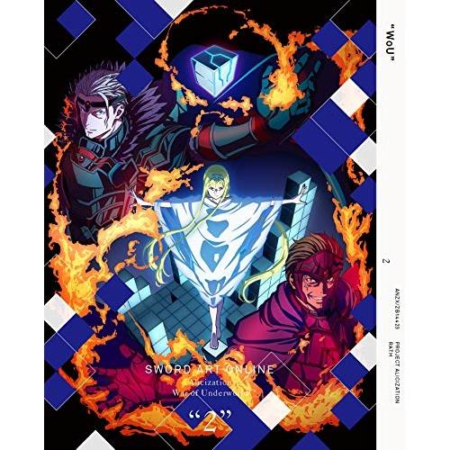 DVD ソードアート・オンライン アリシゼーション War of Underworld 2DVD CD完全生産限定版TVアニメ ANZB 14423BxCoed