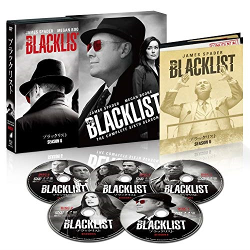 【取寄商品】 DVD/ブラックリスト シーズン6 COMPLETE BOX (初回生産限定版)/海外TVドラマ/BPDH-1243