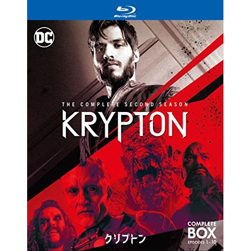 2020秋冬新作 人気急上昇 BD クリプトン シーズン2 コンプリート Blu-ray 1000758947 海外TVドラマ ボックス